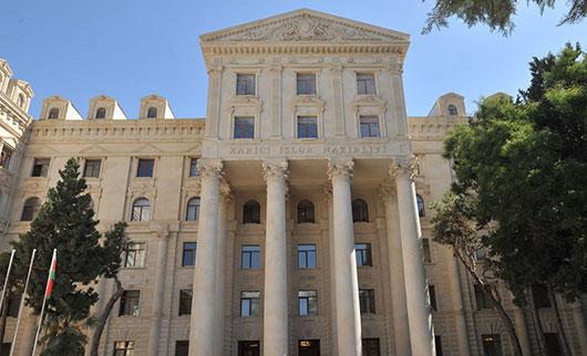 აზერბაიჯანის საგარეო უწყება: ცეცხლის შეწყვეტის შესახებ გავრცელებული ინფორმაცია სიმართლეს არ შეესაბამება