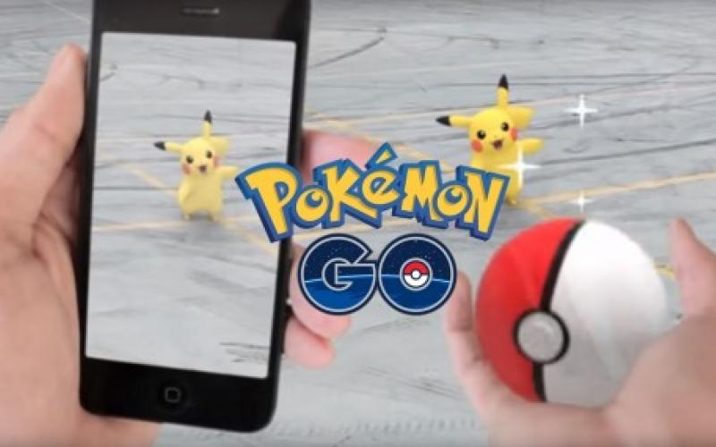 ახალი სუპერპოპულარული თამაში Pokémon Go