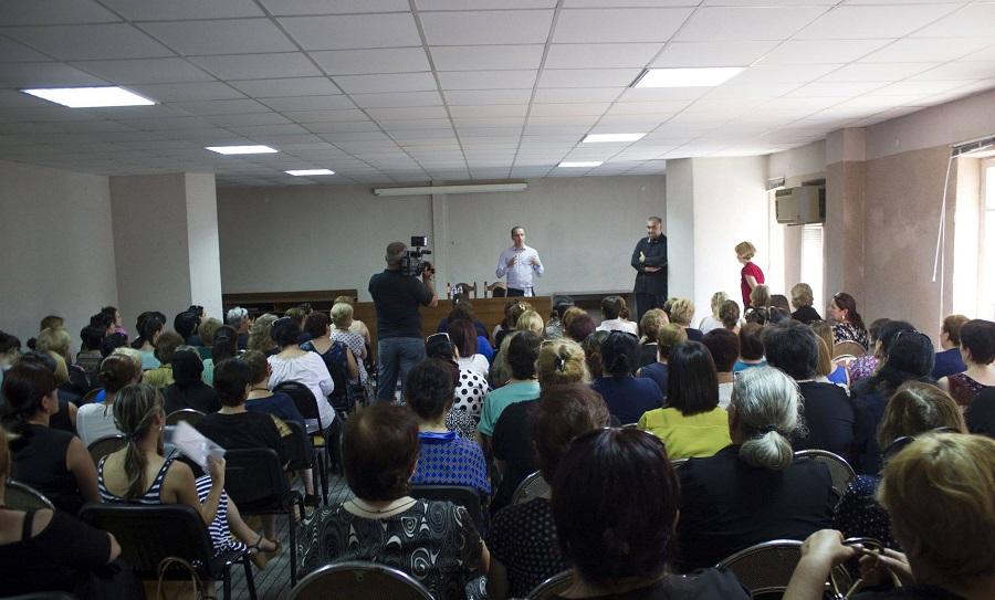 ცოტნე ზურაბიანი - ქალთა აქტიური მონაწილეობაპოლიტიკურ პროცესებში ქვეყნის დემოკრატიულობის ერთ-ერთი მაჩვენებელია წყალტუბოში