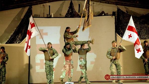 საქართველოს დამოუკიდებლობის დღე ქართველმა მშვიდობისმყოფელებმა ავღანეთში აღნიშნეს