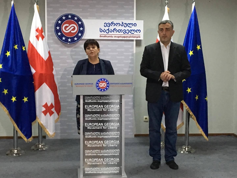 """""""ევროპული საქართველო"""" ოკუპირებულ ტერიტორიებზე ქართულ სკოლებში არსებულ პრობლემებს ეხმაურება"""