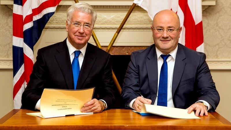 გაერთიანებულ სამეფოსთან ორმხრივი თანამშრომლობის გეგმას მოეწერა ხელი