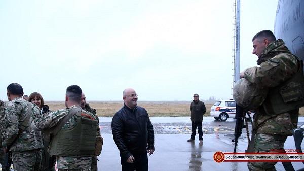 23-ე ბატალიონი ავღანეთიდან საქართველოში სრული შემადგენლობით დაბრუნდა