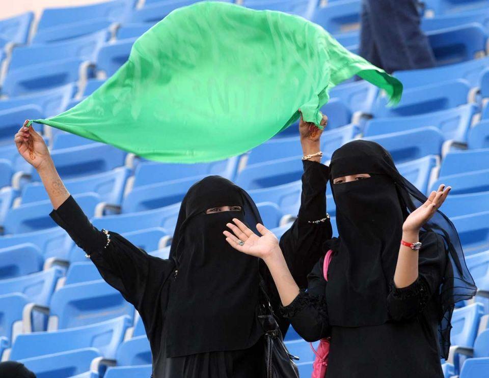 საუდის არაბეთში ქალებს სტადიონებზე შეუშვებენ
