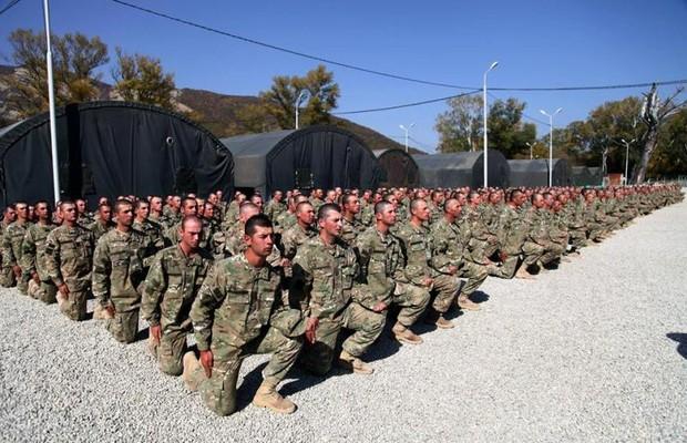საკონტრაქტო სამხედრო სამსახურის მსურველთა რეგისტრაცია გრძელდება