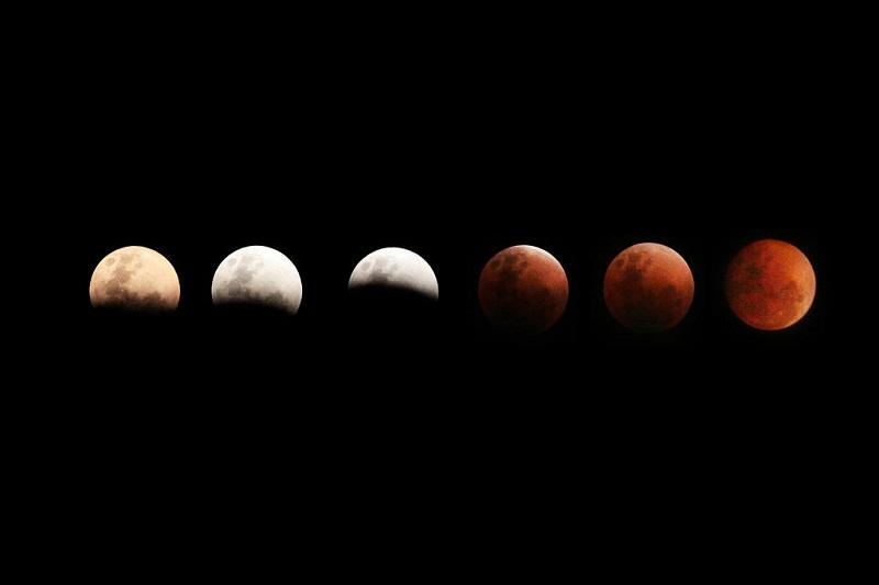 """როგორ დაინახეს მსოფლიოს სხვადასხვა წერტილიდან """"სუპერ ლურჯი სისხლიანი მთვარე"""" - (ფოტო)"""