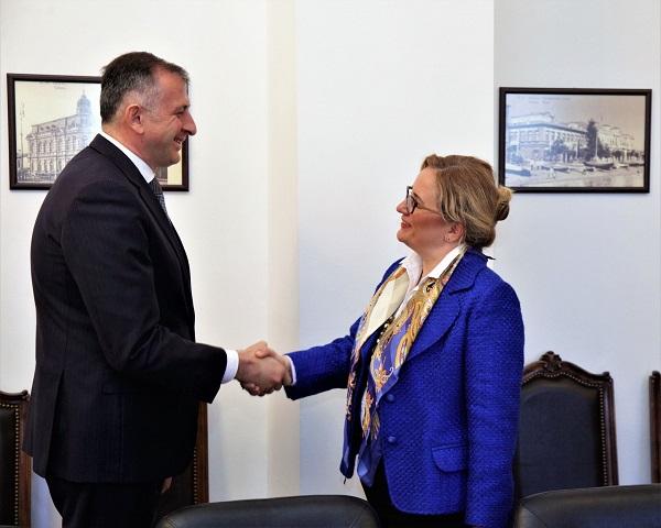 ზურაბ პატარაძემ თურქეთის რესპუბლიკის ელჩთან შეხვედრა გამართა