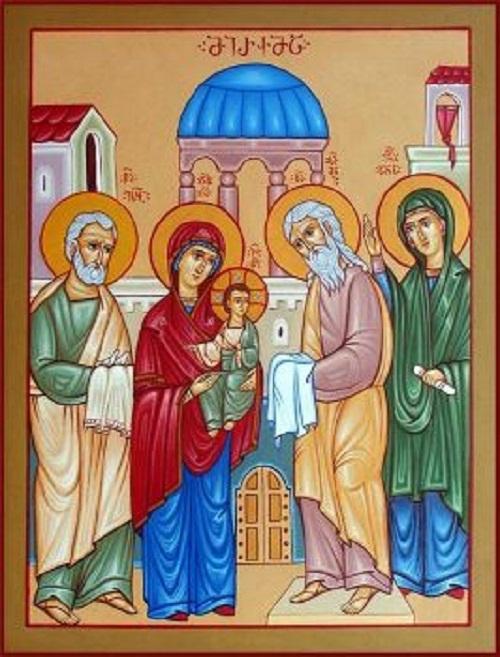 15 თებერვალს, მართლმადიდებელი ეკლესია მირქმის დღესასწაულს აღნიშნავს