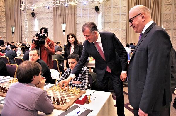 ბათუმი ჭადრაკში ვაჟთა შორის ევროპის  მე-19 ჩემპიონატს მასპინძლობს