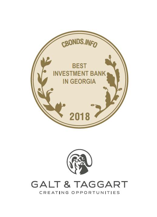 CbondS -მა გალტ & თაგარტი საქართველოში  2018 წლის საუკეთესო საინვესტიციო ბანკად დაასახელა
