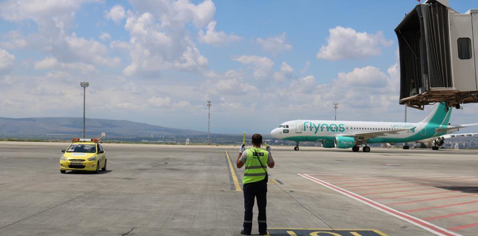 Flynas-მა ელ რიადი-თბილისის მიმართულებით პირველი პირდაპირი ფრენა განახორციელა