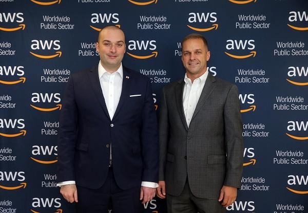 """პრემიერმა და """"ამაზონის"""" ხელმძღვანელმა პირებმა ციფრული ტექნოლოგიების განვითარების სფეროში საქართველოს მნიშვნელოვან პოტენციალზე ისაუბრეს"""
