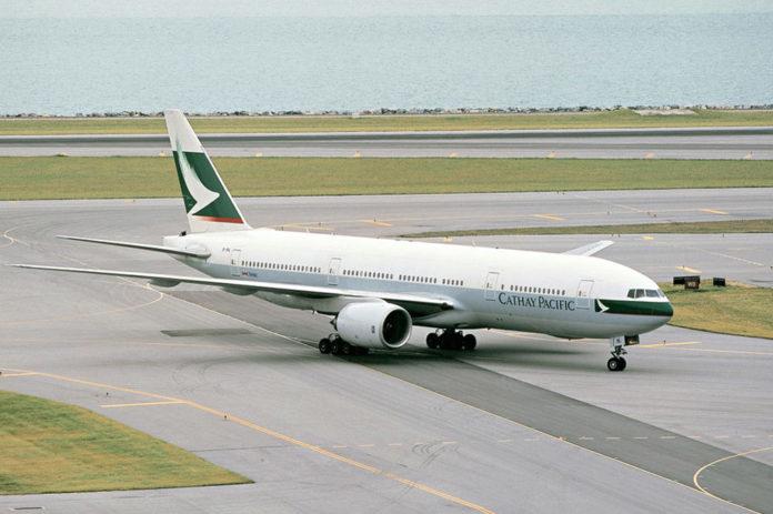 Cathay Pacific-მა და Boeing-მა პირველი Boeing 777-ი საავიაციო მუზეუმს გადასცეს