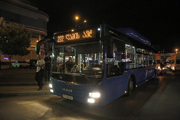 """""""ღამის ავტობუსის"""" მარშრუტი დღეიდან ამოქმედდება"""