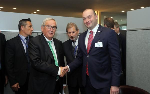ევროკომისიის პრეზიდენტი საქართველოსთან ვიზალიბერალიზაციის პროცესში არსებულ ტენდენციებს პოზიტიურად აფასებს