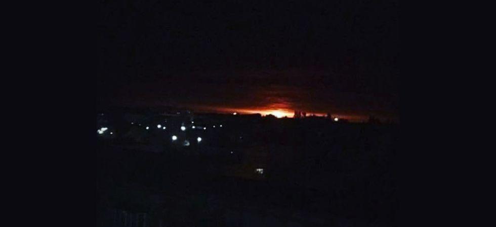 უკრაინაში, ჩერნიგოვის ოლქში მდებარე სამხედრო საწყობში აფეთქება მოხდა