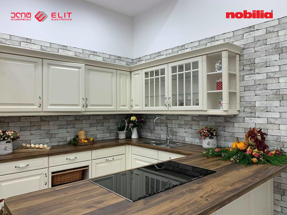ელიტ ელექტრონიქსში nobilia-ს სამზარეულოს ავეჯის შოურუმი გაიხსნა