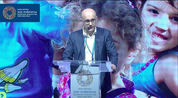 ფინანსთა მინისტრმა მსოფლიო ბანკის ორგანიზებულ სამიტზე ადამიანური კაპიტალის განვითარების პერსპექტივაზე ისაუბრა