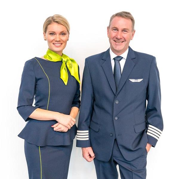 რამდენიმე დღეში airBaltic-ს ახალი უნიფორმა ექნება