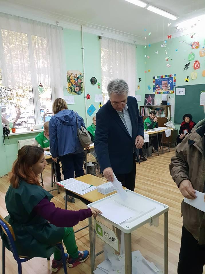 დღეს ხმა მივეცი საქართველოს დაბრუნებას ევროპულ ოჯახში - დავით სერგეენკო
