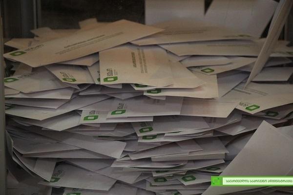საპრეზიდენტო არჩევნებში მონაწილეობა 1 637 956 ამომრჩეველმა მიიღო