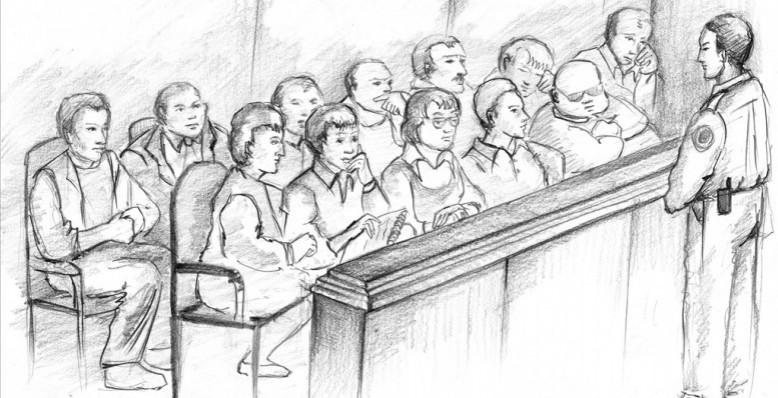 ნაფიცმა მსაჯულებმა მკვლელობაში ბრალდებული ორი პირის მიმართ გამამართლებელი ვერდიქტი გამოიტანეს