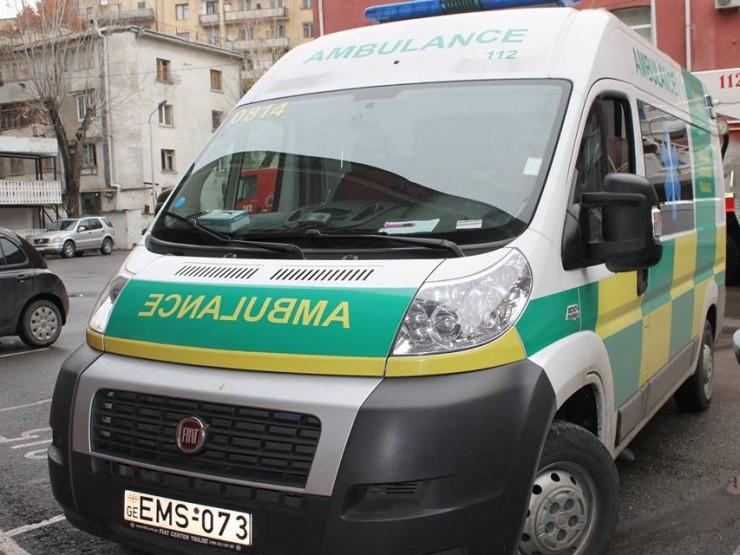 თერჯოლაში მომხდარი ავარიისას დაშავებული 24 წლის მამაკაცი საავადმყოფოში გარდაიცვალა