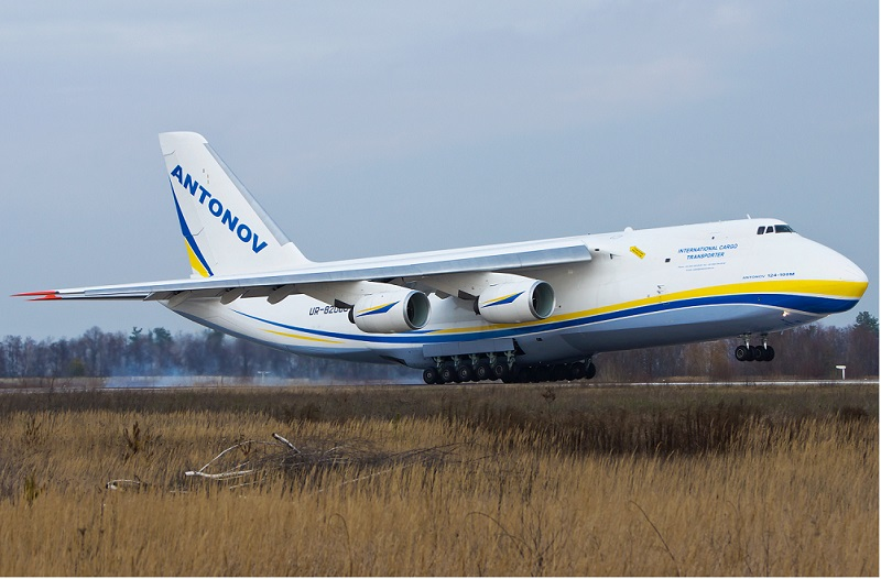 ტეილორ სვიფტმა Antonov Airlines-გან ორი გიგანტური თვითმფრინავი იქირავა