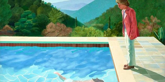 დევიდ ჰოკნის ნახატმა კრისტის აუქციონზე რეკორდი მოხსნა