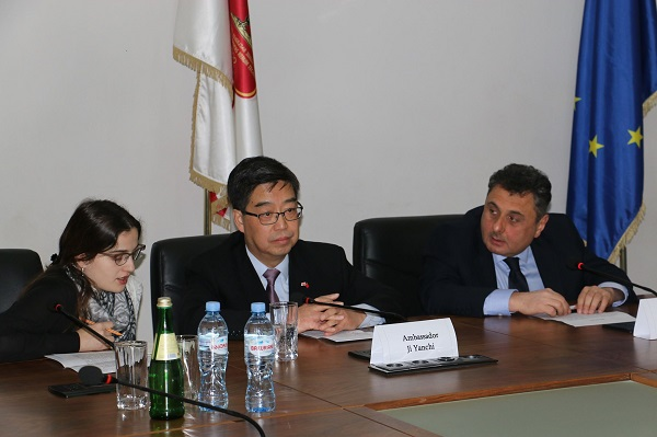 ჩინეთის ელჩი საქართველოს ტექნიკურ უნივერსიტეტში