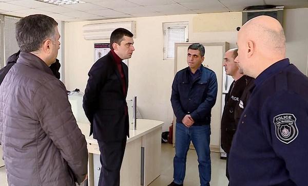 შინაგან საქმეთა მინისტრი რეგიონებში პოლიციელებთან სამუშაო შეხვედრებს განაგრძობს