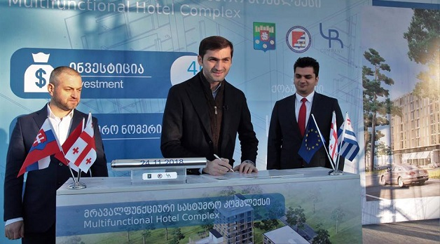 ქობულეთში ახალი სასტუმრო-კომპლექსი აშენდება