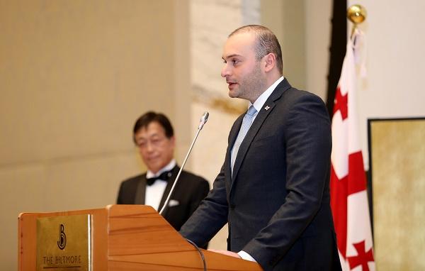 მამუკა ბახტაძე:  ჩვენ ვაფასებთ იაპონიის უმნიშვნელოვანეს მორალურ და მატერიალურ თანადგომას