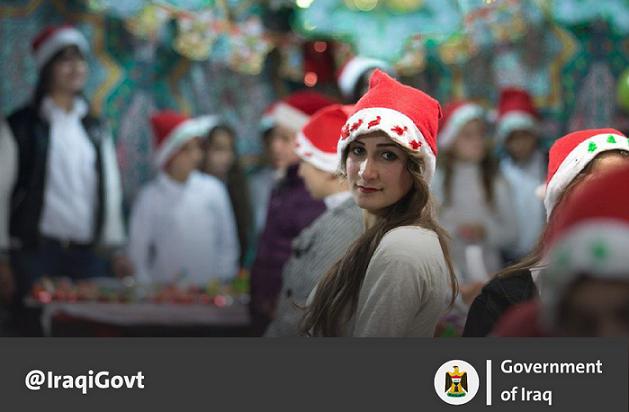 ერაყის მთავრობა ქრისტიანებს შობას ულოცავს