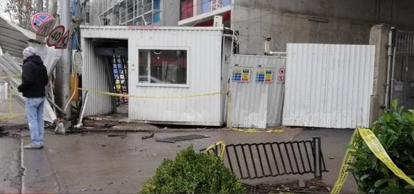 ჭავჭავაძეზე სასწრაფო დახმარების ავტომანქანა ტროტუარზე მუშებს შეეჯახა - დაიღუპა 1 და დაშავდა 12 ადამიანი