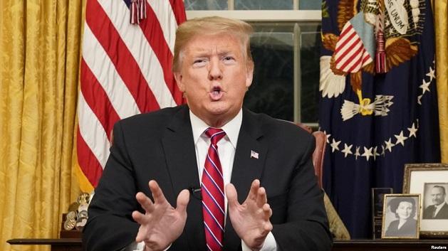 ტრამპის თქმით, ამერიკა-მექსიკის საზღვარზე ჰუმანიტარული კრიზისია, რომელსაც მხოლოდ კედლის აშენება გადაჭრის