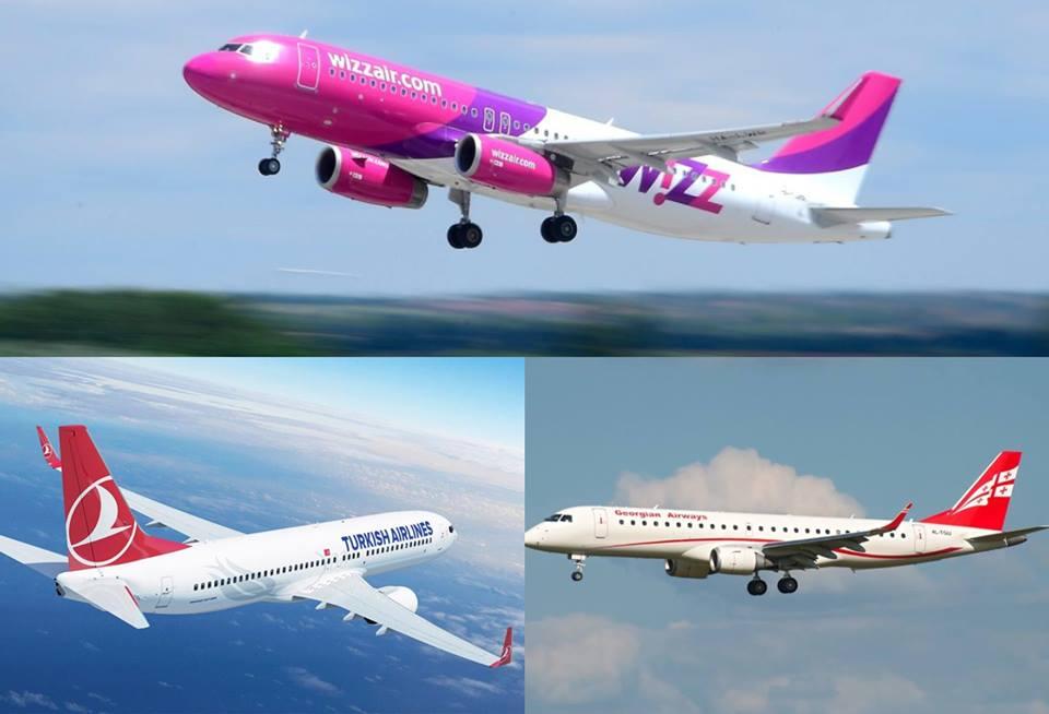 პირველად საქართველოს ავიაბაზრის ისტორიაში, გადაყვანილი მგზავრთნაკადით ლიდერი Wizz Air-ია