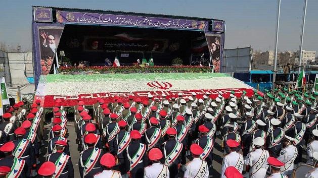 ირანი ისლამური რევოლუციის 40 წლისთავს ზეიმობს