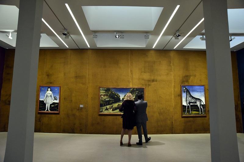 არლში ვინსენტ ვან გოგის ფონდში ნიკო  ფიროსმანაშვილის ნამუშევრების გამოფენა გაიხსნა