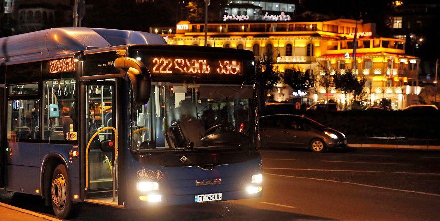 8 მარტიდან ღამის ავტობუსი მუშაობას განაახლებს