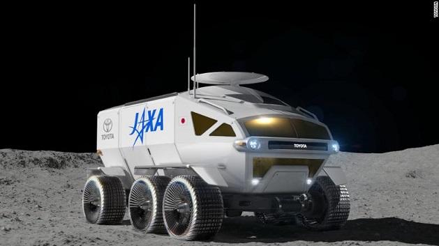 ტოიოტა მთვარეზე მოგზაურობისთვის პირველ მანქანას ამზადებს | ფოტო