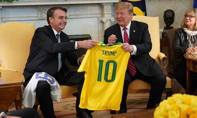ბრაზილიას აქვს შანსი, ნატო-ს წევრი გახდეს, თუ ამის სურვილი ექნება - დონალდ ტრამპი