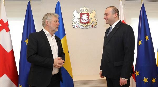 მამუკა ბახტაძე შვედეთის საერთაშორისო განვითარებისა და თანამშრომლობის მინისტრს შეხვდა