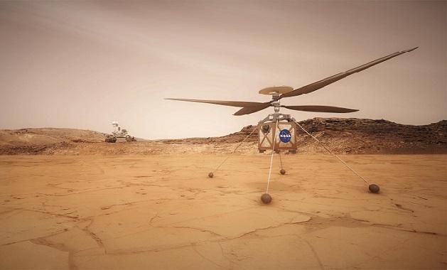2020 წელს Nasa მარსზე პირველ ვერტმფრენს აგზავნის |ვიდეო