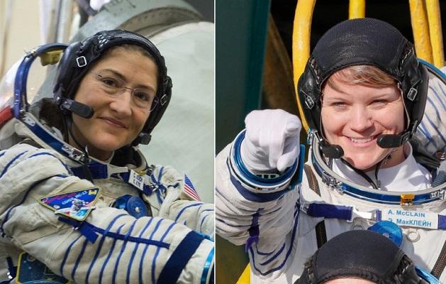 ორი ქალი ასტრონავტის გასვლა ღია კოსმოსში არასწორი ზომის სკაფანდრის გამო გადაიდო