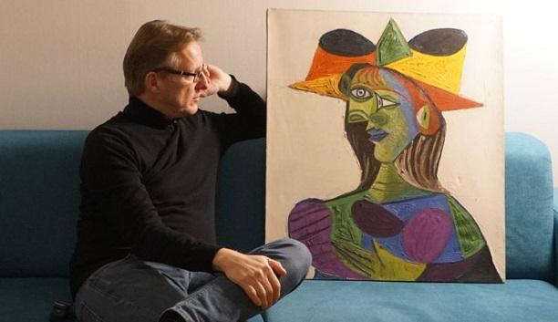 არტურ ბრანდმა პიკასოს 20 წლის წინ დაკარგული ნახატი იპოვა