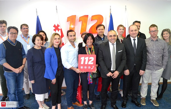 ახალგაზრდა გლობალური ლიდერები 112-ს ესტუმრნენ