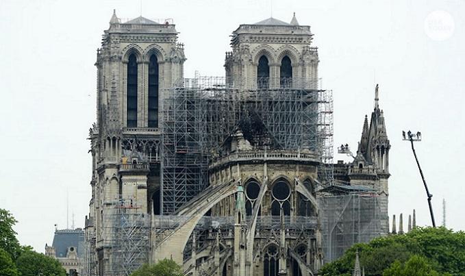პარიზის ღვთისმშობლის ტაძარი, შესაძლოა, წვიმამ დააზიანოს