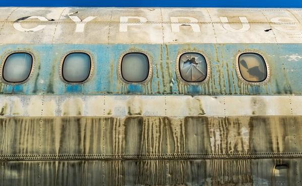 44 წლით მიტოვებული აეროპორტი ნიკოსიაში | ფოტო