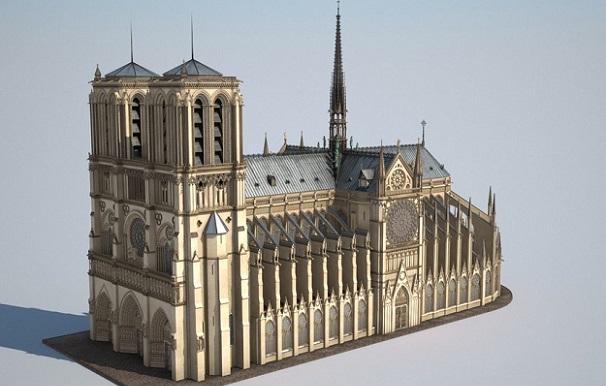 პარიზის ღვთისმშობლის ტაძარი, შესაძლოა, 3D პრინტერის დახმარებით აღადგინონ